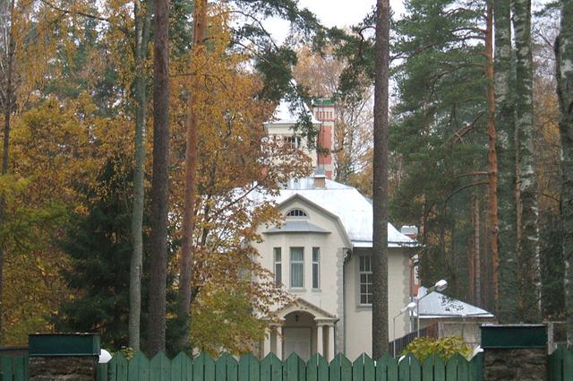 Особняк Бормана. Резиденция губернатора.