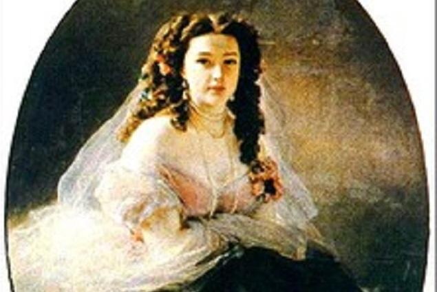 Второй портрет Варвары Римской-Корсаковой хранится в галерее Орсе в Париже.