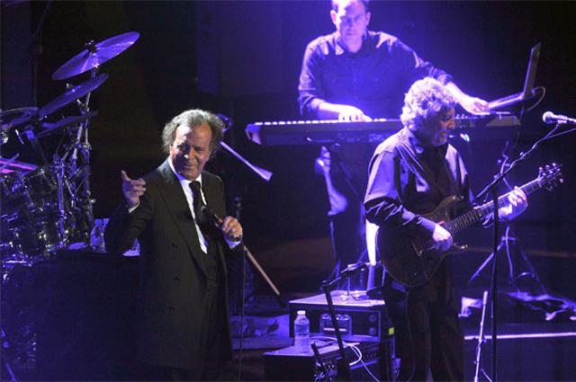 Концерт Хулио Иглесиаса.