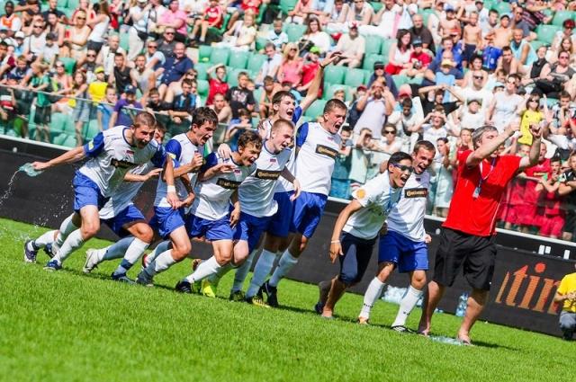 Красноярская команда второй раз становится чемпионом мира.