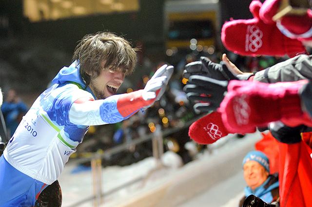 Александр Третьяков на Олимпиаде в Ванкувере, 2010 год