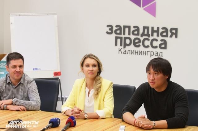 Евгений Донских, Наталья Ищенко, Сангаджи Тарбаев.