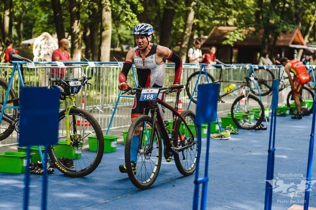 На чемпионат «Iron Man» Сергей Гейдрих ехал на велосипеде через всю Европу.