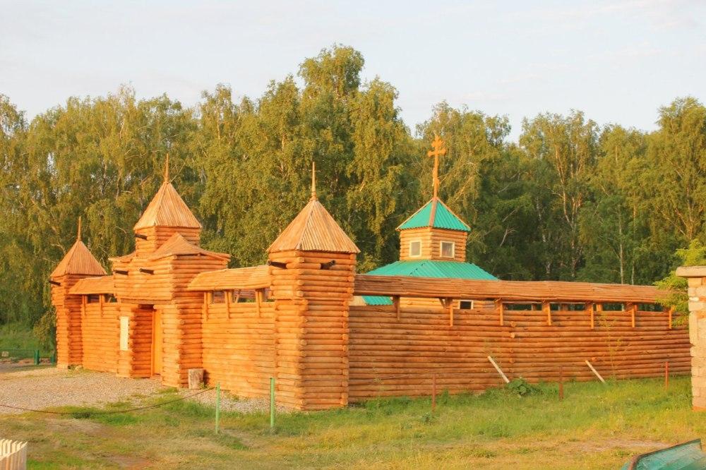 Копия казачьей крепости.