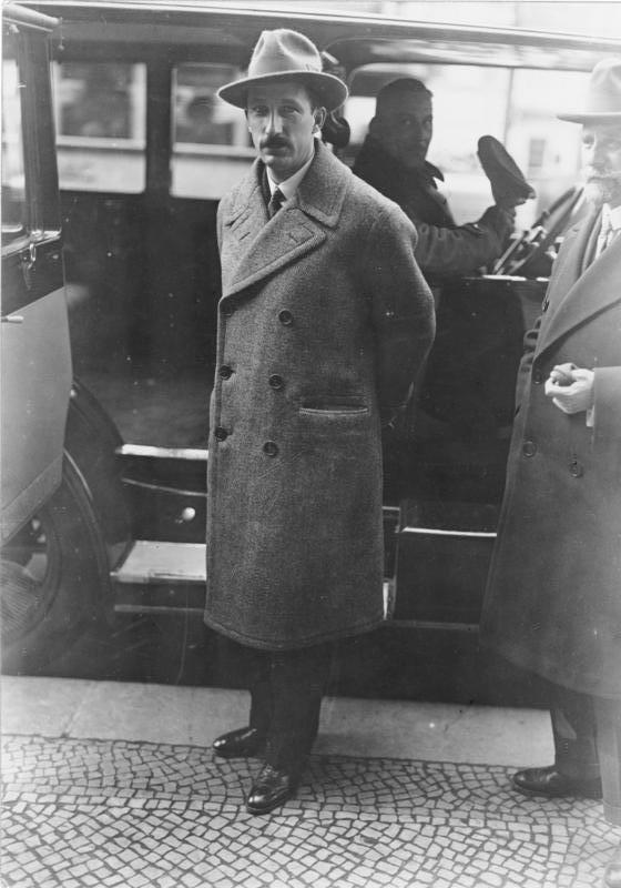 Борис III и Пауль фон Гинденбург, Берлин, 1929 г.