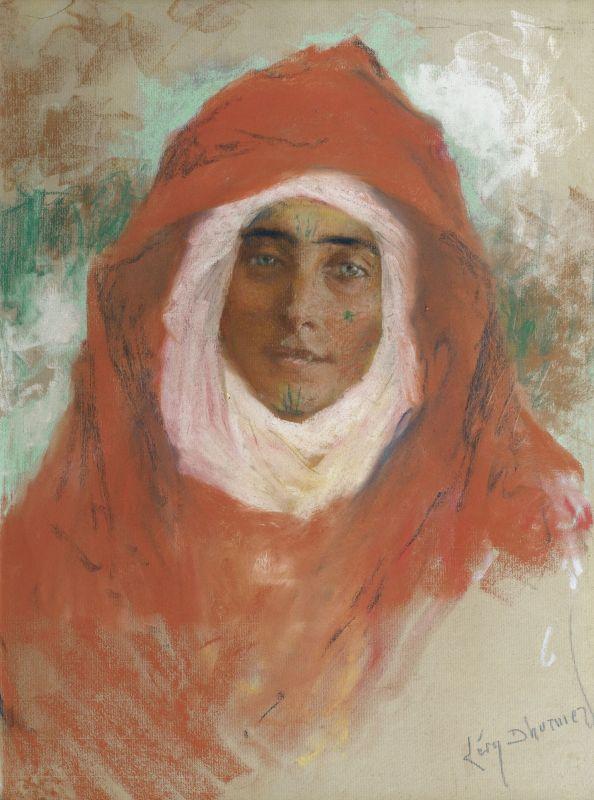 Люсьен Леви-Дюрмэ. Портрет молодой женщины.