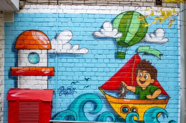 граффити Вити Джока