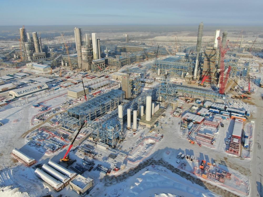 На Амурском ГПЗ будут извлекать ценные компоненты из природного газа для дальнейшей глубокой переработки на территории России.