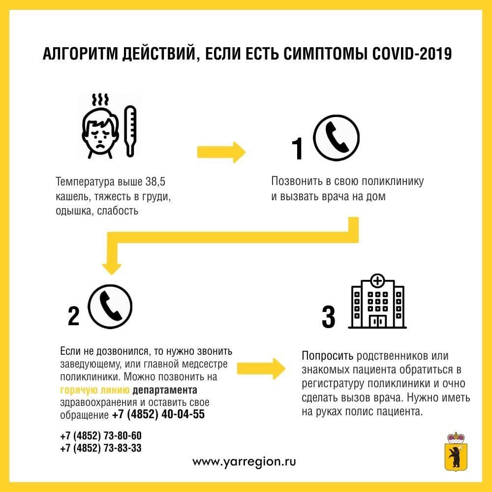 Инфографика по коронавирусу