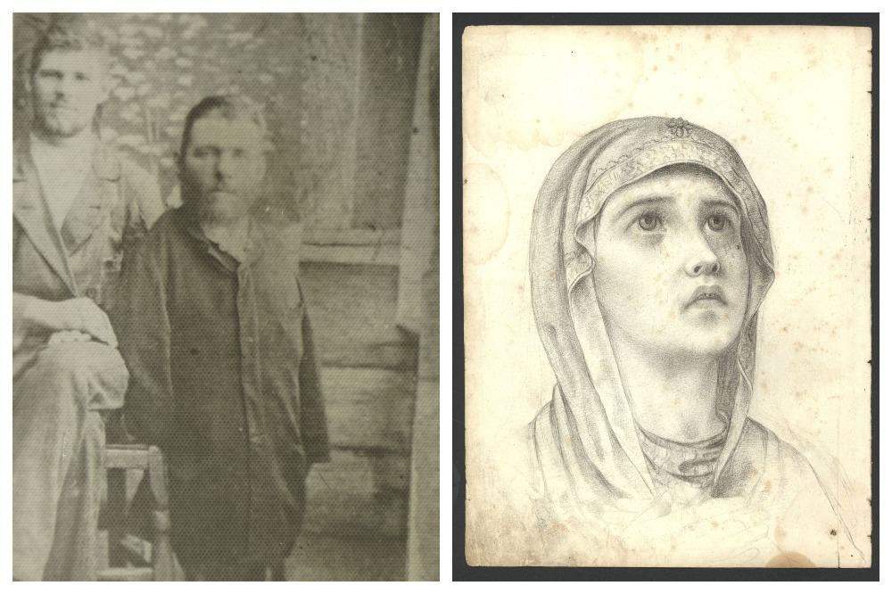 Григорий Журавлев рисовал иконы.