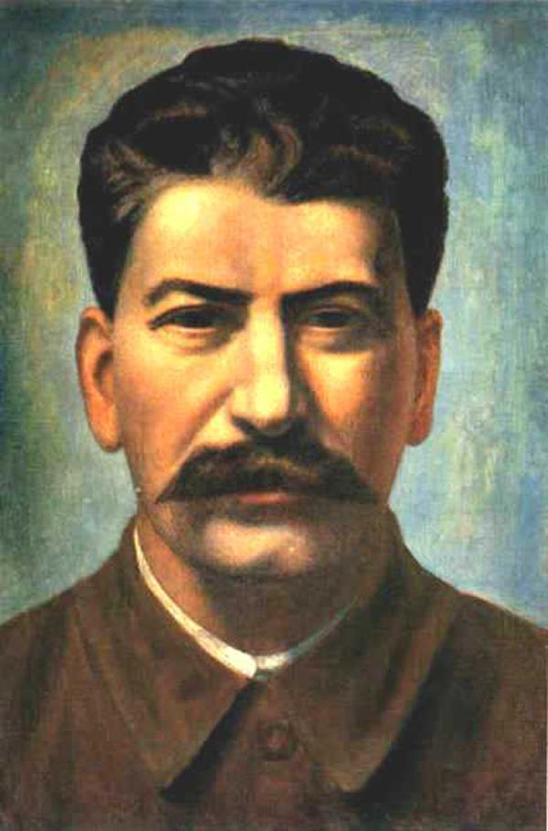 Павел Филонов. Портрет Сталина. 1936