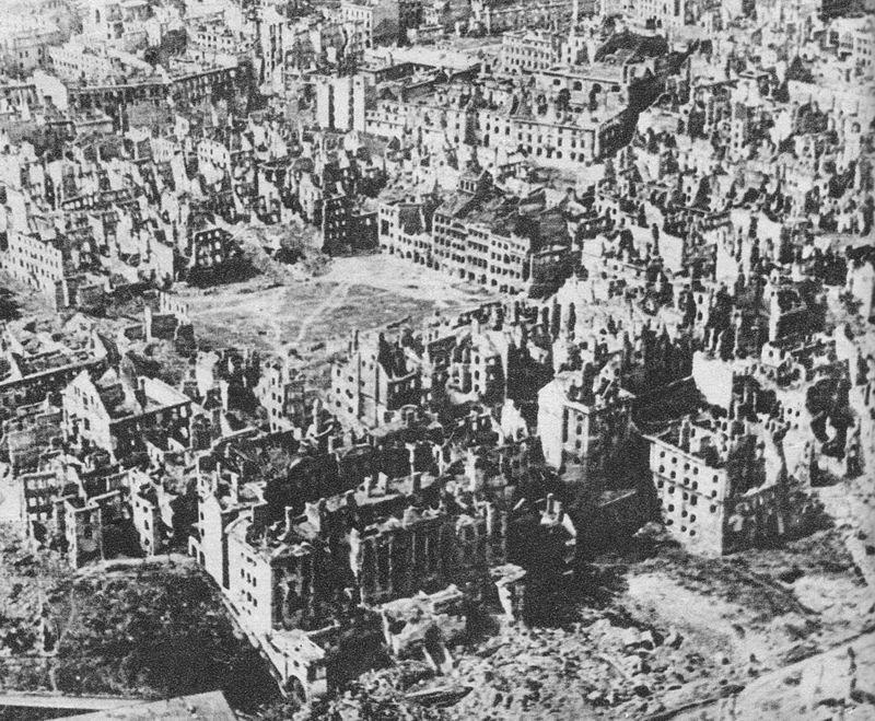 Варшава, январь 1945 года