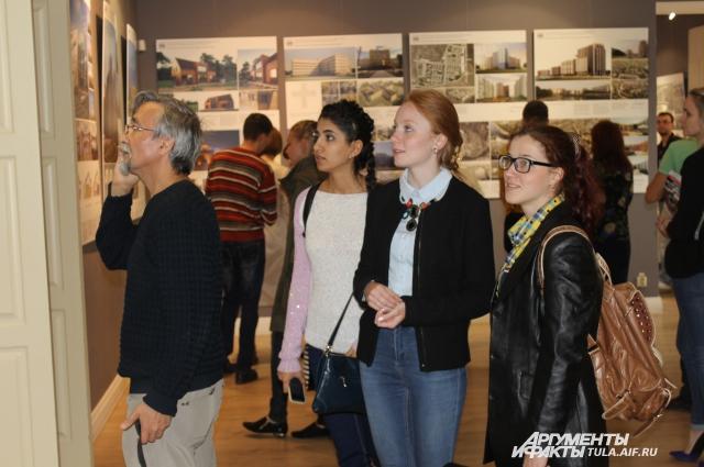 выставка молодых архитекторов «АрхСтройТула-2015»