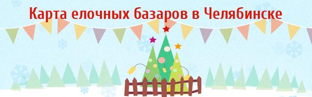 Где в Челябинске купить елку, инфографика