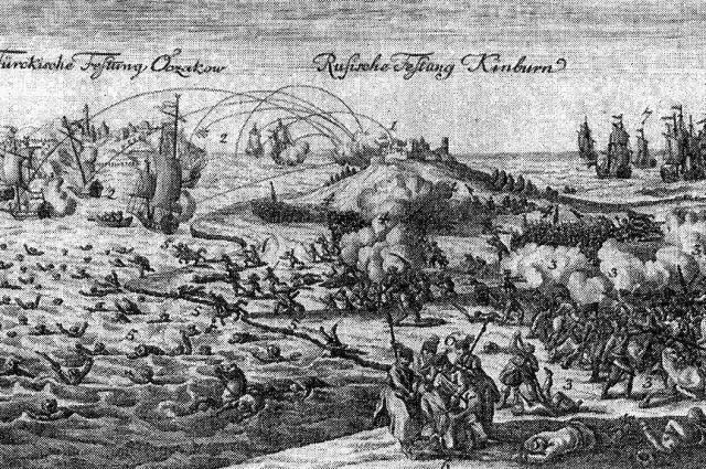 инбурнская крепость явилась первым объектом нападения турецких войск в войне.