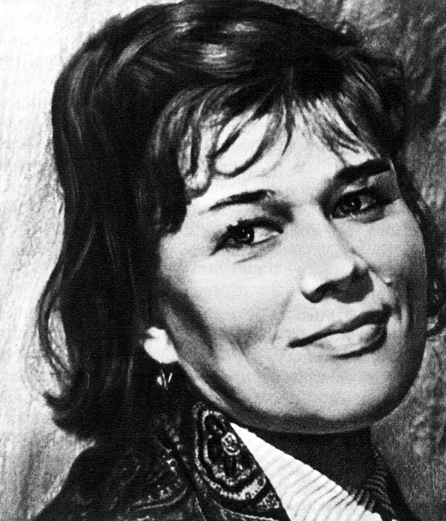Люсьена Овчинникова, 1968 год.