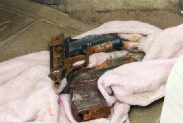 Задержание убийц коммерсанта, оружие, пистолеты