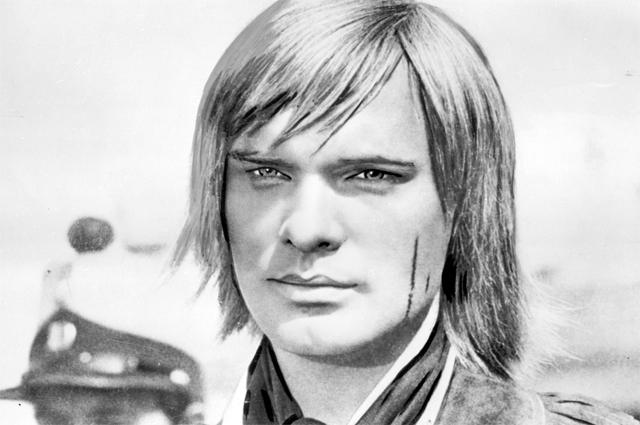 Олег Видов в роли Мориса Джералда в фильме «Всадник без головы», 1973 год.