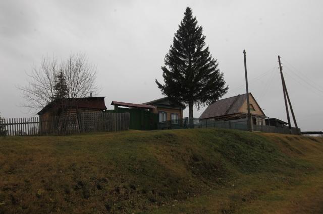 Деревня Полднево. 174 метра над уровнем моря.