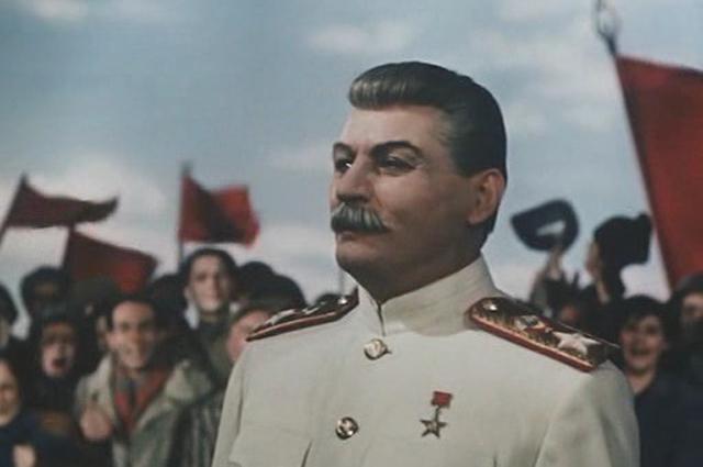 Михаил Геловани в фильме «Падение Берлина» (1949)