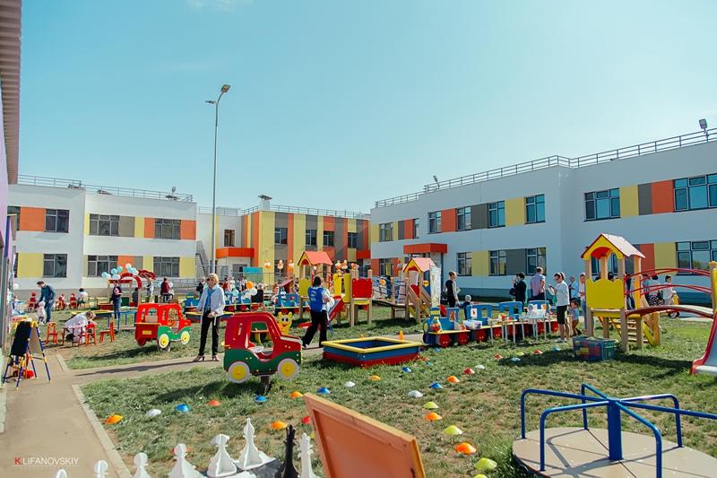 Новый детский сад в микрорайоне
