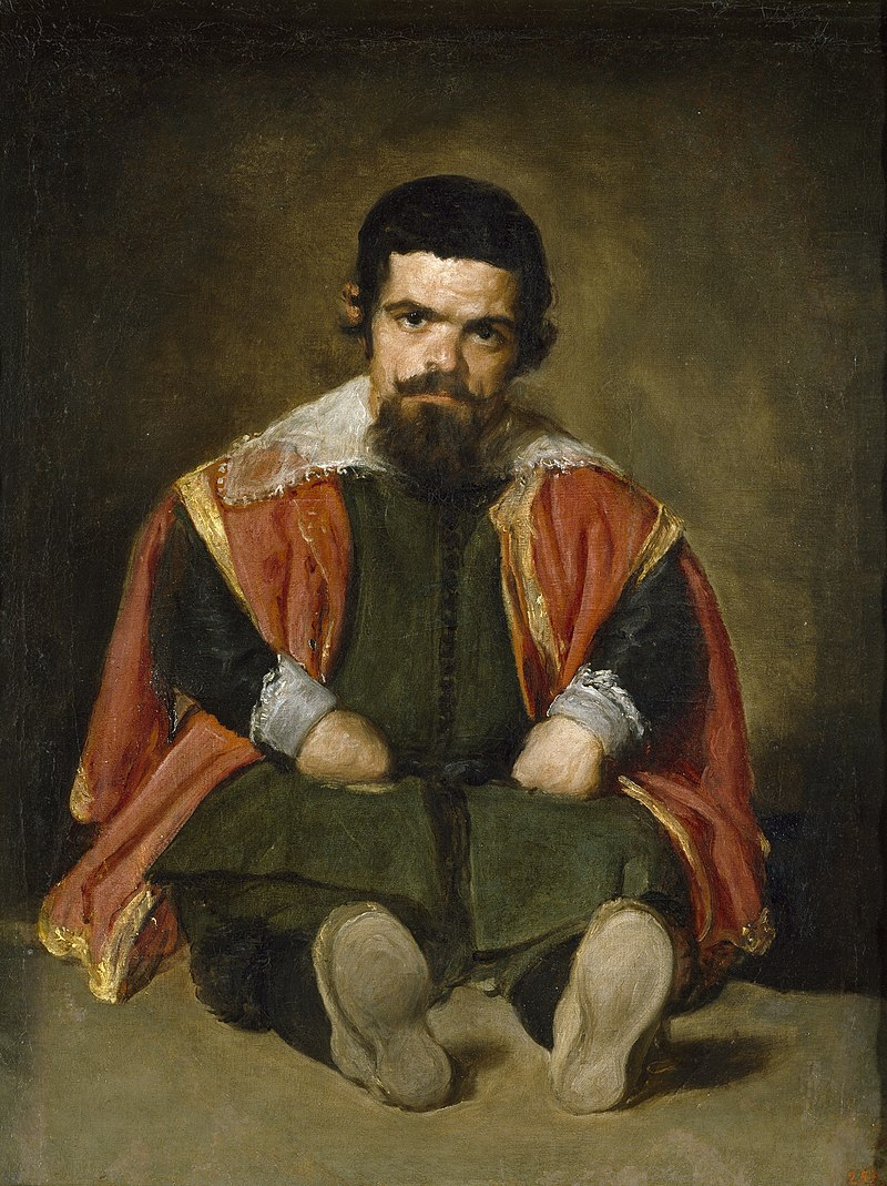 Диего Веласкес. Шут дон Себастьян де Морра.