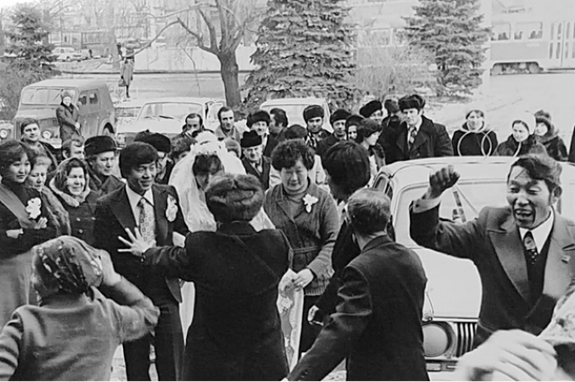 Корейская свадьба в СССР
