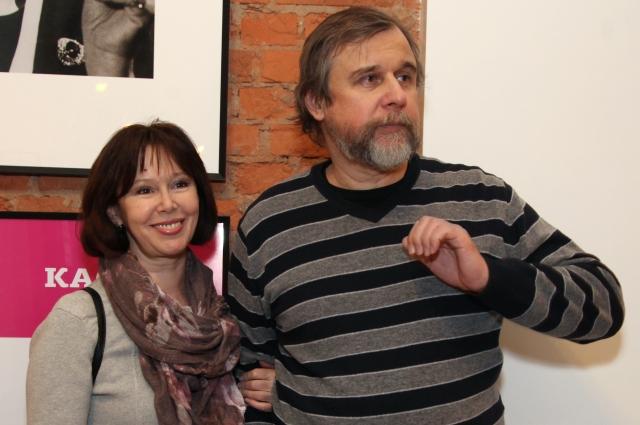 Евгения Симонова и Андрей Эшпай.