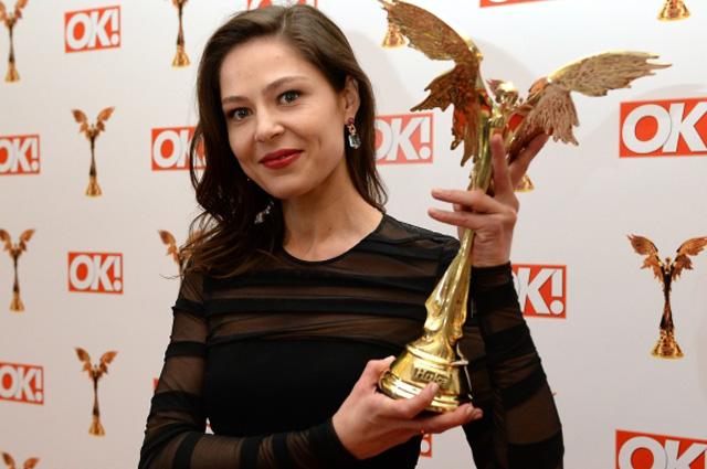 Актриса Елена Лядова, получившая приз в номинации Лучшая актриса за фильм Левиафан