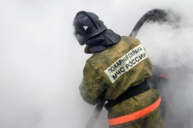 Дом сгорел дотла за десять минут