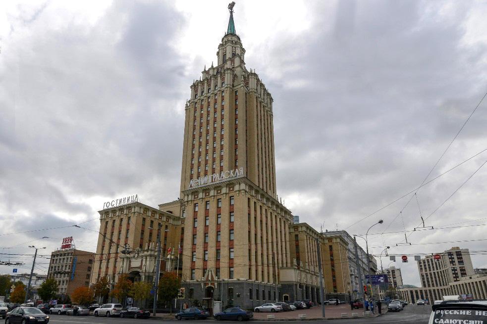Гостиница Ленинградская.