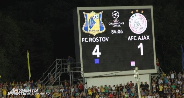 Ростовчане сенсационно разгромили именитый голландский клуб.