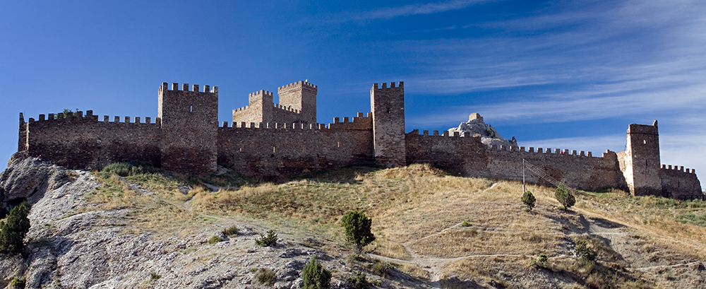 Генуэзская крепость (Судак).