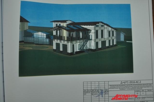 План проекта предусматривает строительство трёх корпусов.