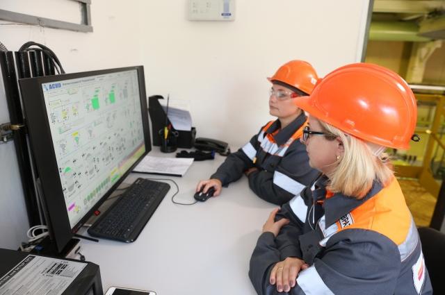 Вся информация о работе очистных сооружений шахты «Распадская-Коксовая» стекается в центральный диспетчерский пункт.