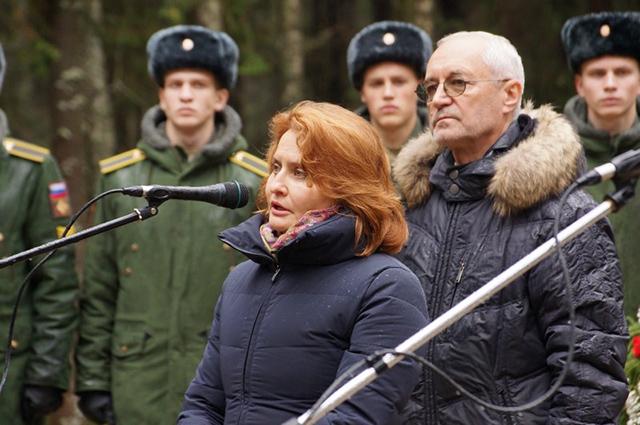 генеральный директор Музея современной истории России Ирина Великанова
