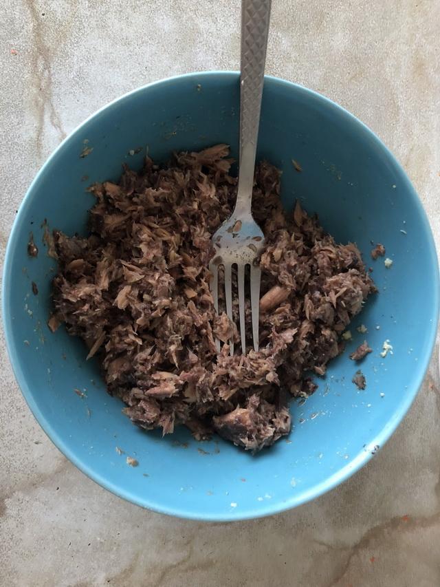 Рецепт салата с тунцом.