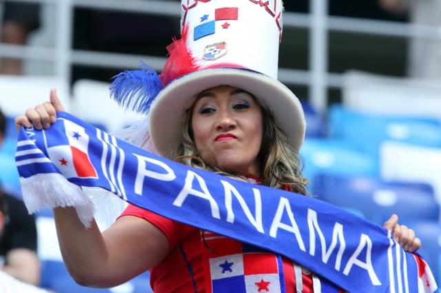 Панамские болельщики отпраздновали историческое голевое достижение.