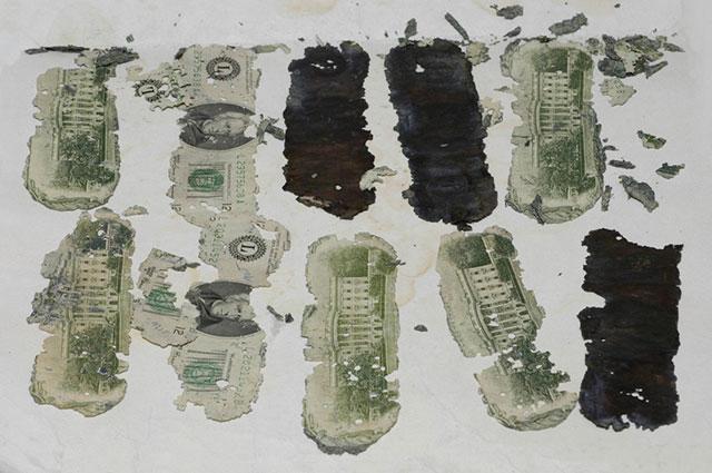 Деньги, обнаруженные в 1980-м году.