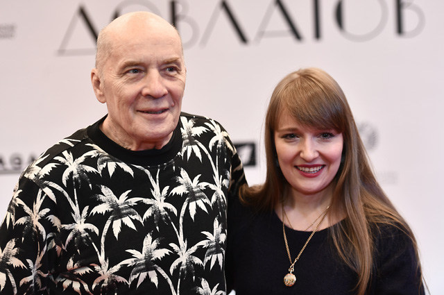 Народный артист РФ Александр Филиппенко с дочерью.