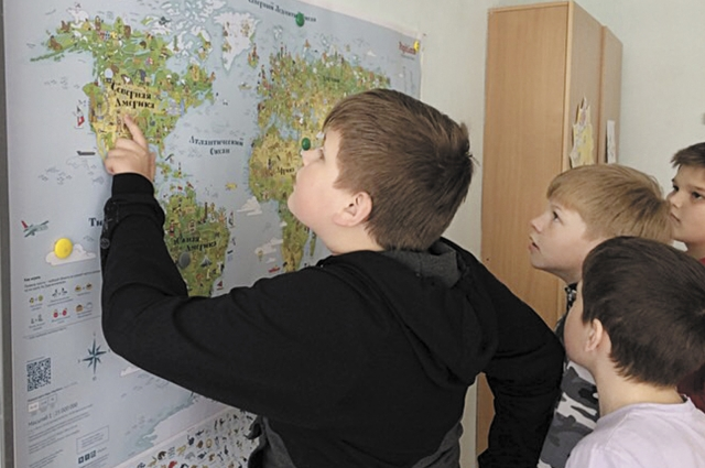 С помощью «Игровой карты мира» дети могут изучать географию и расширять кругозор.