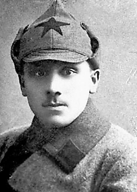 Молодой опер Наум Эйтингон, 1920-е гг.