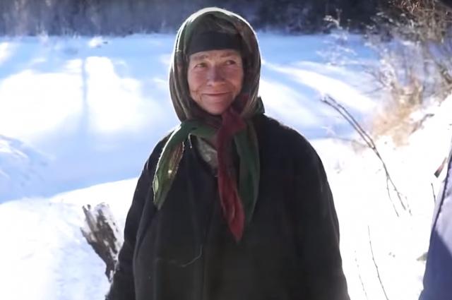 Агафья Лыкова родилась в сибирской тайге в 1944 году и всю жизнь провела вне цивилизации.