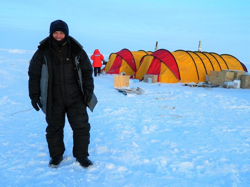 Александр Лынник исполнил мечту детства - побывал на Северном полюсе.