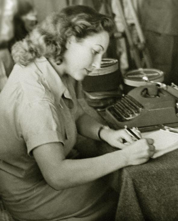 Секретарь в 1954 году