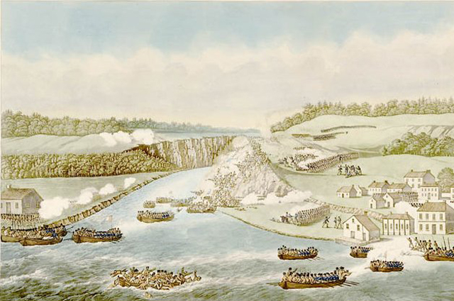 Битва на Квинстон-Хайтс.