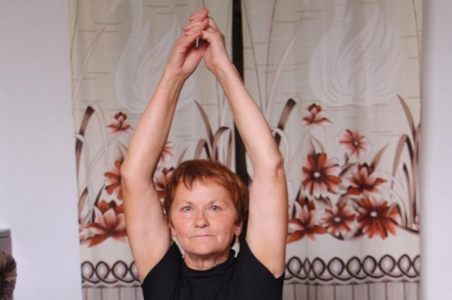 Мария Мериченко ведет здоровый образ жизни.
