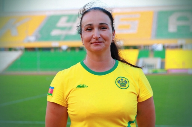 Татьяна Зайцева играет в футбол со времен СССР.