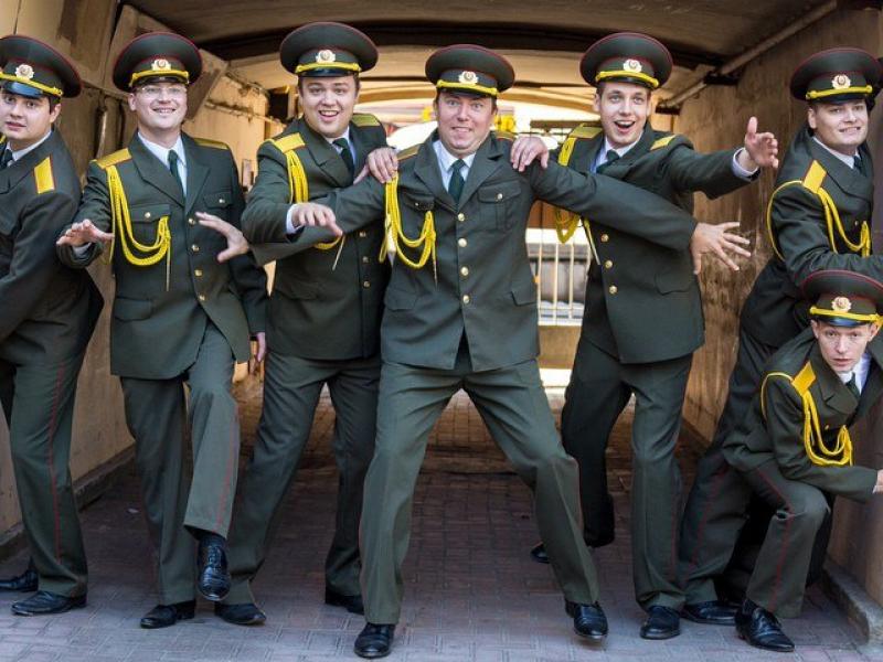Хор русской армии ломает стереотипы