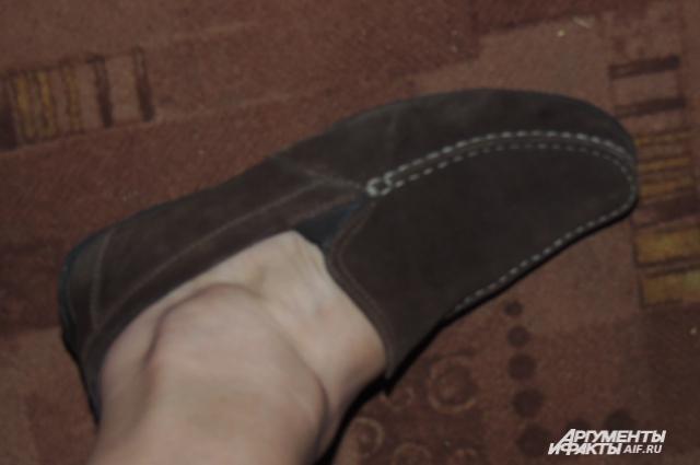 Единственная обувь, которая мне подошла в женском отделе